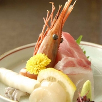 *新鮮旬魚のお造り(一例)