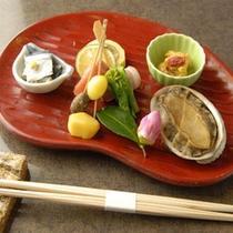 *前菜(ご夕食一例)