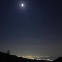 *芦ノ湖(夜)