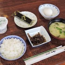 【朝食一例】身体にやさしい和食で毎日の健康管理。