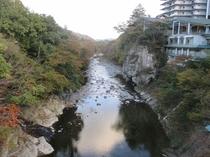秋保温泉の紅葉名所