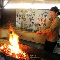 鰹と言えばココ・・!「かつお船」とコラボ企画♪自分で作る藁焼きタタキ体験!