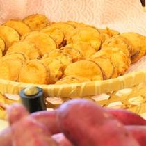 日曜市の『いも天』が朝食で食べれる♪
