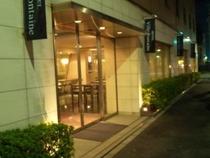 【ホテル外観】ホテルエントランス