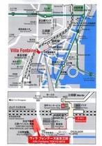 ヴィラフォンテーヌ田町MAP