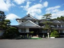 岩村山荘の外観