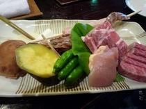 子供戦国料理(五平餅1本付き)
