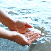 □ラジウムの湯。体の芯から温まります