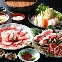 ■【極上◇冬グルメ】ジビエ肉以外にも冬山の味覚が満載!大人なあなたにお勧め!
