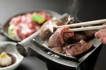 上州牛の瓦焼きステーキ2