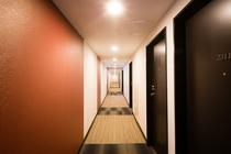 西館客室3階廊下