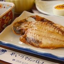 *朝食魚一例