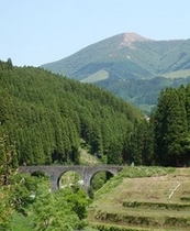 山川温泉入り口眼鏡橋