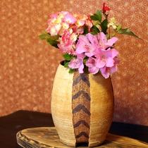 【お部屋】彩る季節の花