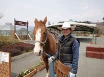 乙姫ペンション村(乗馬体験)