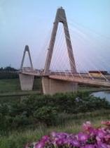 恋人の聖地:内灘大橋