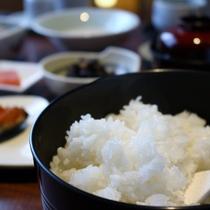 【朝食一例】農家さんから直接仕入!道内産米「おぼろつき」をご賞味ください。