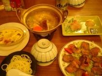 夕飯の一例2