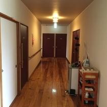 2階の廊下です…