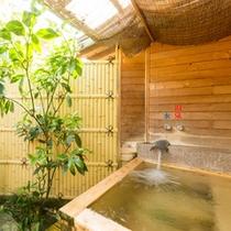 客室露天風呂 泉