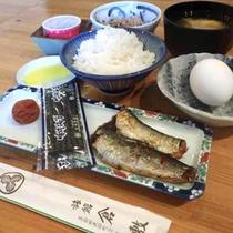 *【朝食一例】純和風な朝食メニューは、ご飯のすすむ逸品です!
