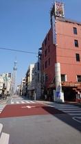 カプセルイン錦糸町とスカイツリー