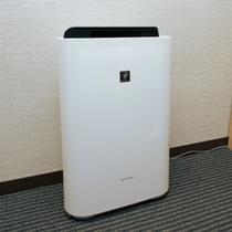 全室に加湿空気清浄器設置