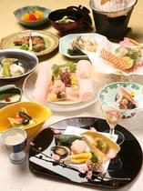 京会席料理(春)縦イメージ