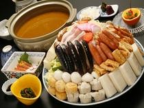 カレーちゃんこ鍋(お造り付)イメージ