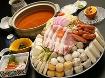 味噌ちゃんこ鍋(お造り付)イメージ