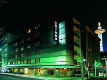 ホテル佐野家(夜)外観