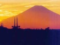 太田山より富士山