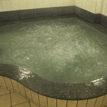 気泡風呂の様子