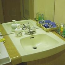 *【客室一例】独立した洗面台