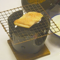 *【ご朝食一例】熱々ふわふわをお召し上がりいただけます