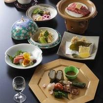 *【ご夕食一例:春会席】季節の味覚をお届けいたします