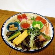 【手巻き寿司一例】シンプル・具沢山なんでもOK♪オリジナル巻き寿司をじゃんじゃん食べてくださいね。