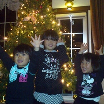 清里高原で素敵なクリスマスを・・子どもたちも大喜び♪