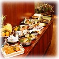 朝食ブッフェスタイル(一例)