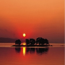■宍道湖の夕日は日本一■
