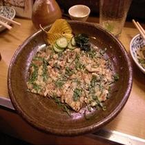 ■宍道湖七珍■「川京」オリジナル「うなぎのたたき」■