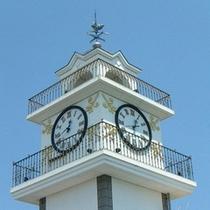 ■当館シンボルの時計台は松江のランドマーク■