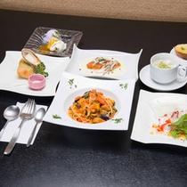 *イタリアンコース/アンチエイジングをテーマに、新鮮な海の幸とお野菜を活かしたコースメニュー。
