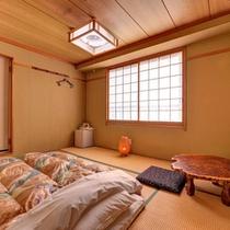 *和室6畳(客室一例)/一人旅やビジネスに◎畳のお部屋でのんびりとお寛ぎいただけます。