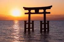 近江最古の大社 白鬚神社