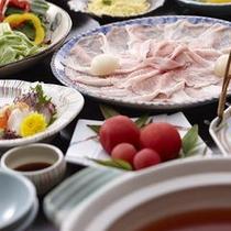 バーム豚トマト鍋