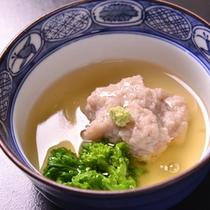 *お夕食一例(蒸し物)