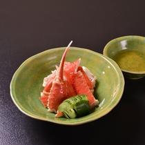 *お夕食一例(蟹)
