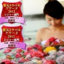 楽天アワード2011&2013受賞