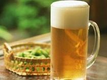 生ビールで一杯